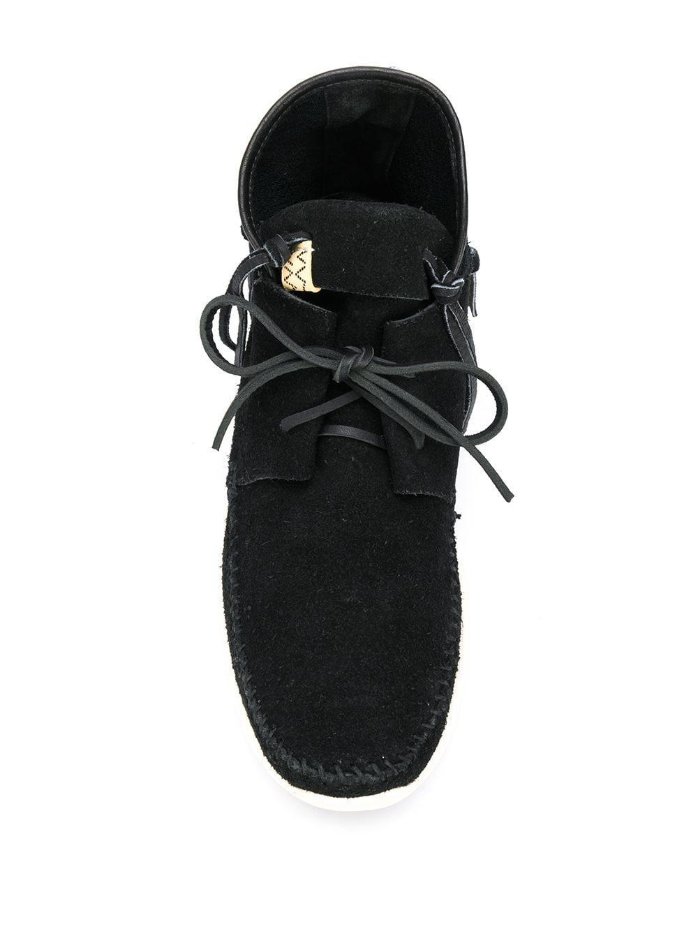 Botas Ute Moc Visvim de Cuero de color Negro para hombre
