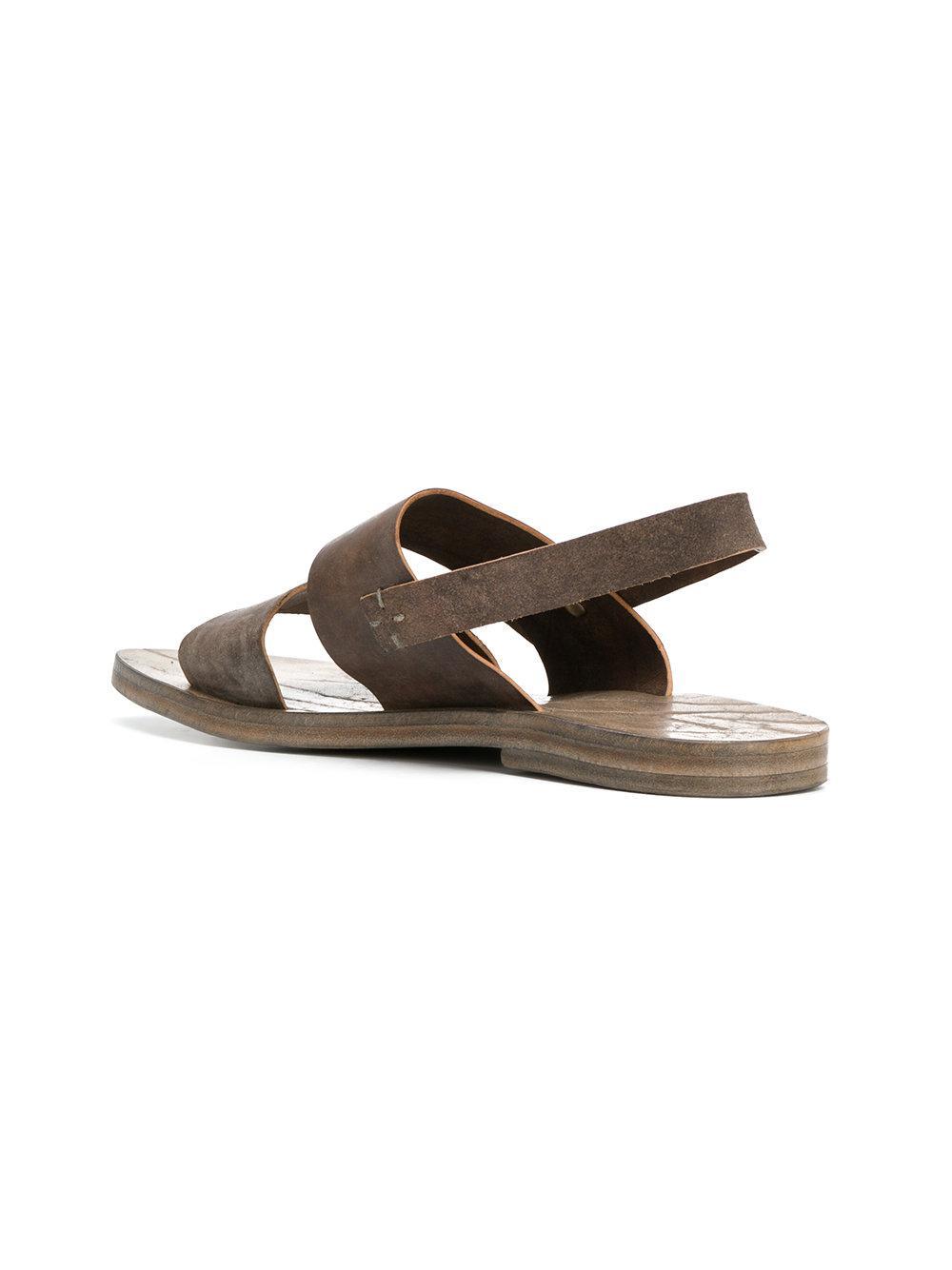 43c80e91407b Lyst - Dimissianos   Miller Slingback Sandals in Brown for Men