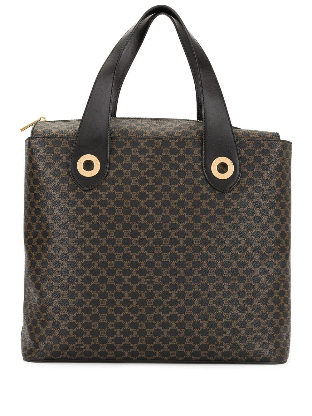 Sac À En Coloris Pre Céline Motif Owned Macadam Main Brown AjR54L