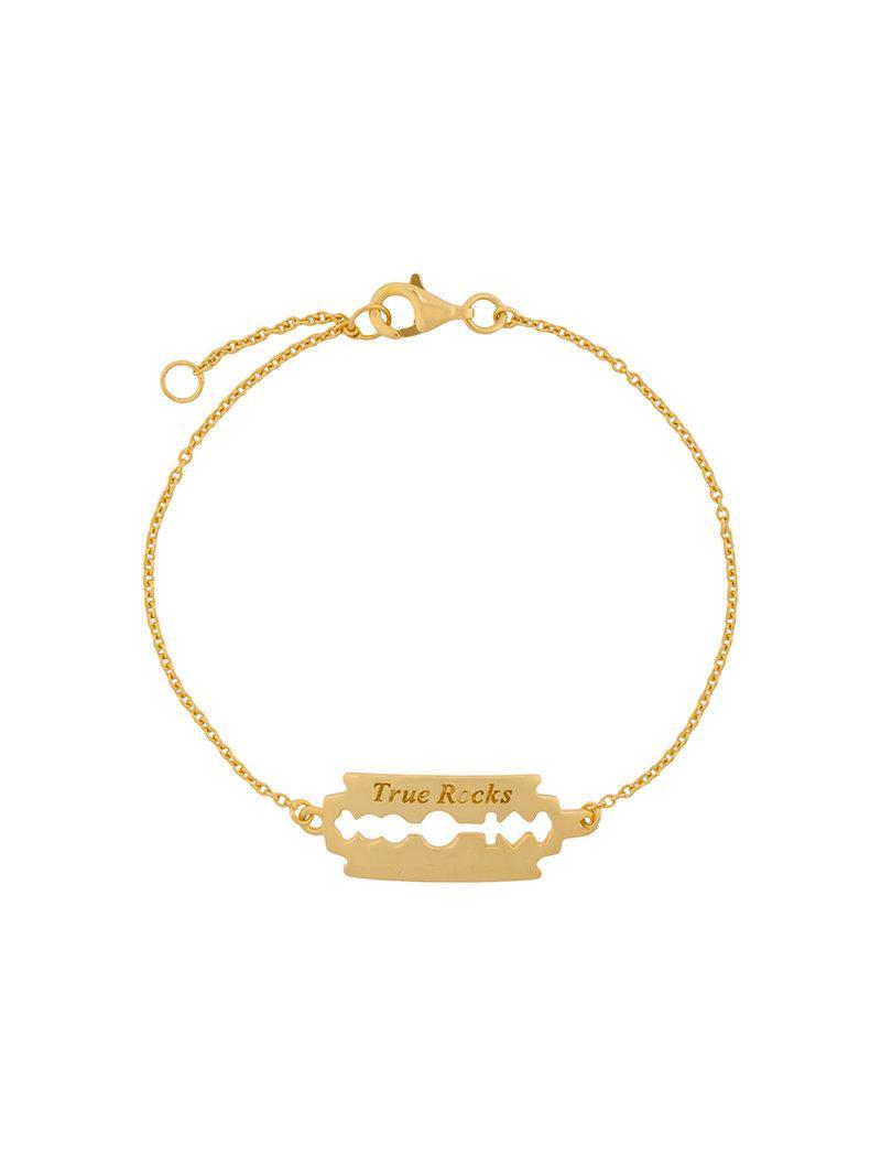 razor bracelet - Metallic True Rocks zq5OgI
