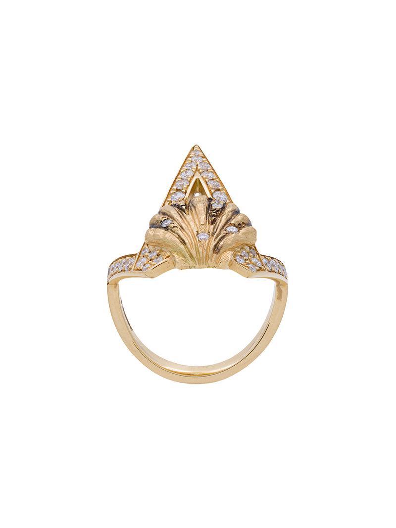 Venyx Lady Caiman ring - Metallic pkSFSFI