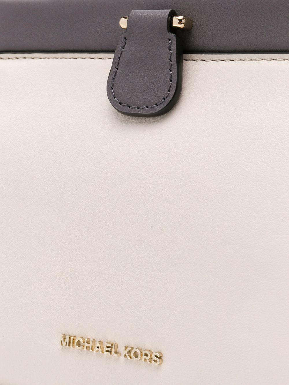 454a12cfe0 Michael Michael Kors 30f8tz6s1t083 278 Lt Crm Multi Leather fur exotic Skins - leather - Lyst