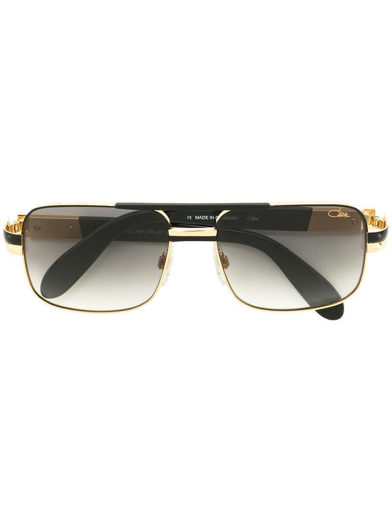 2828069b8c5 Lyst - Cazal Square Frame Sunglasses in Black for Men