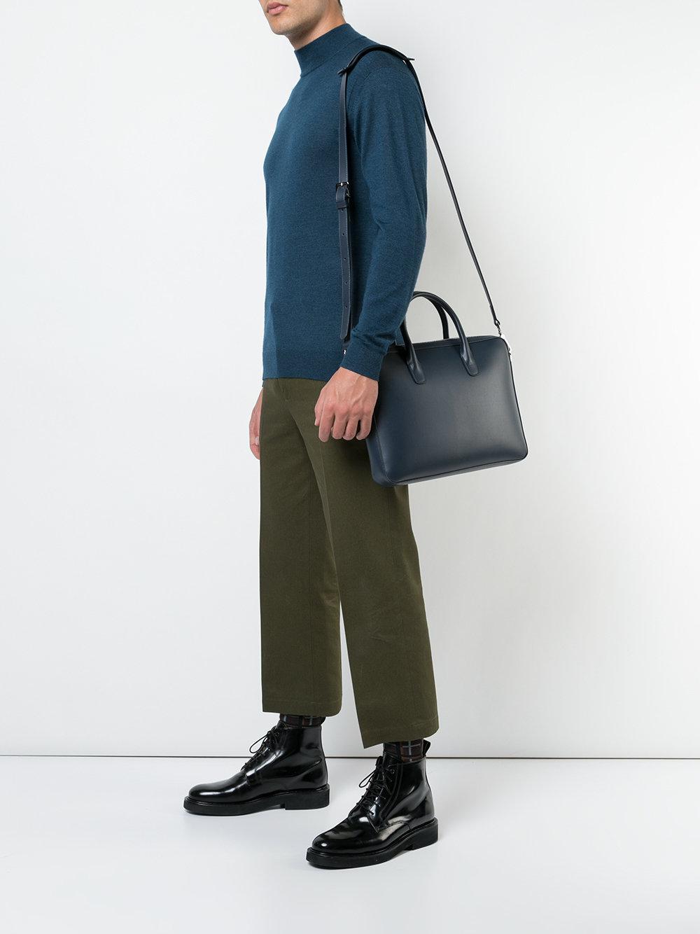 075430e59 Mansur Gavriel - Blue Small Briefcase Bag for Men - Lyst. View fullscreen