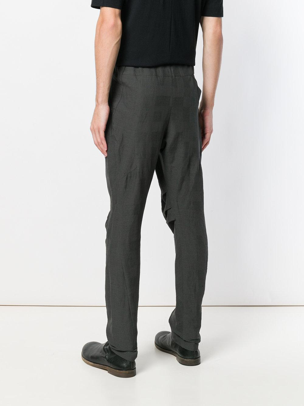 DEVOA Cotton Jodhpurs Trousers in Grey (Grey) for Men