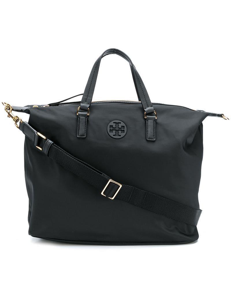 db8495d1bb56 Tory Burch Tilda Slouchy Tote Bag in Black - Lyst