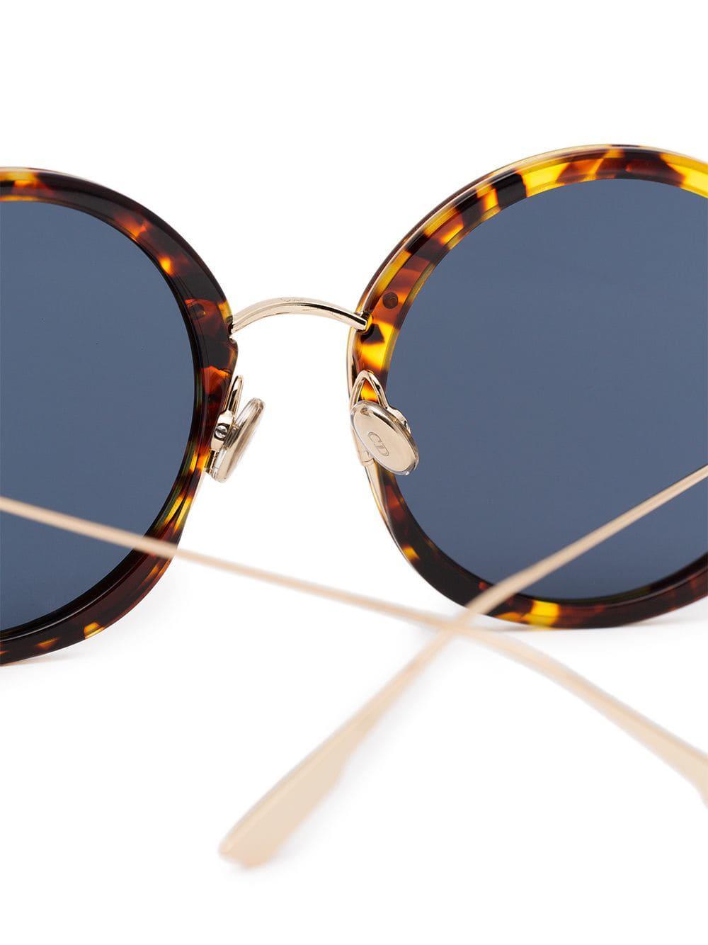 89212eee1 Gafas de sol redondas 56 Dior de color Marrón - Lyst