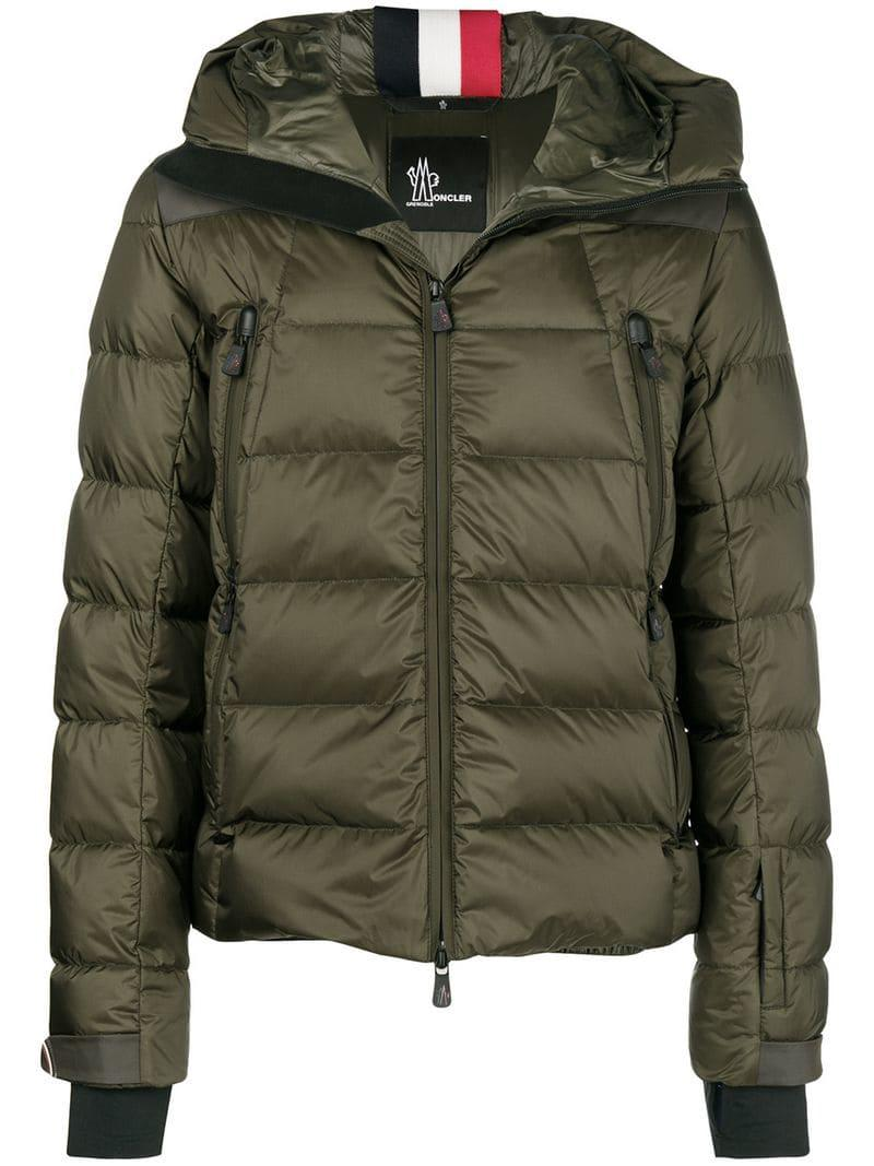 2df93e900163 official moncler tetras padded down jacket lyst 10703 c4c4d  inexpensive moncler  grenoble. mens green padded jacket f373b 9d816
