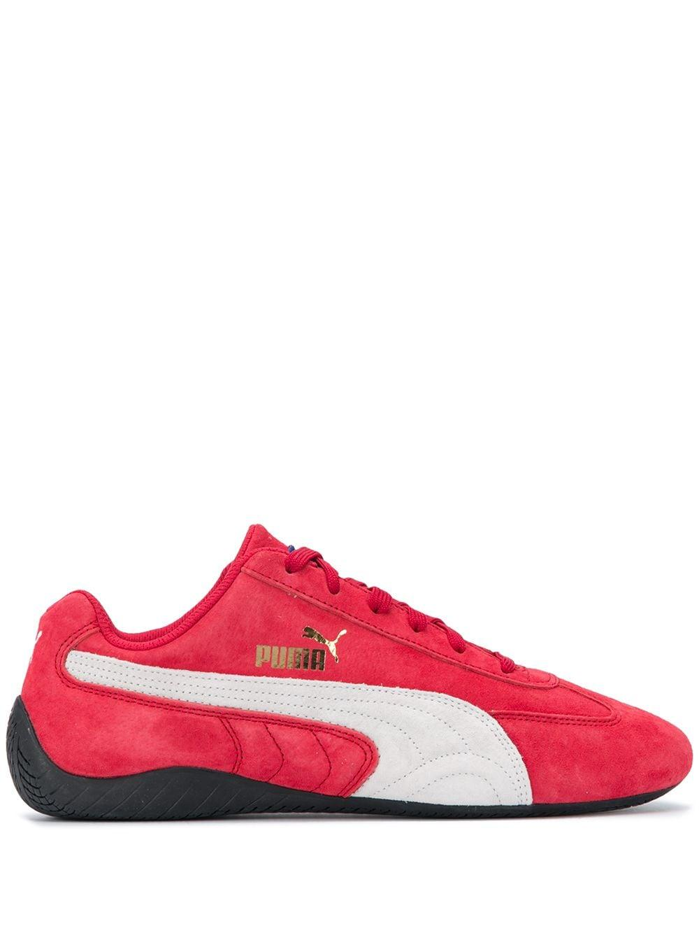 Chaussure Basket Speedcat Sparco Daim PUMA en coloris Rouge - Lyst
