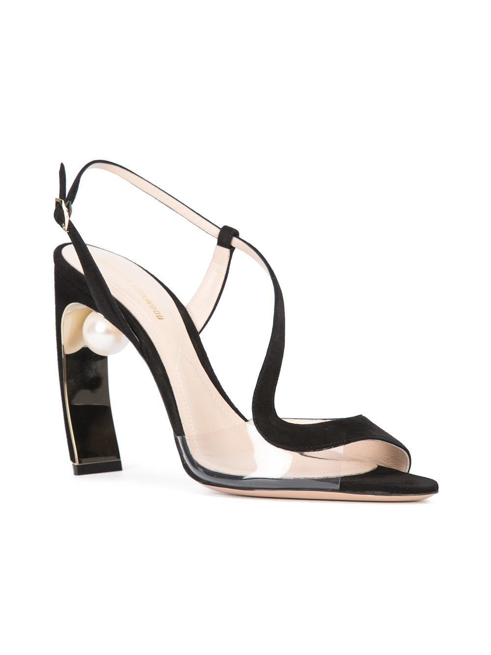 Maeva pearl S sandals - Black Nicholas Kirkwood SEoGekw