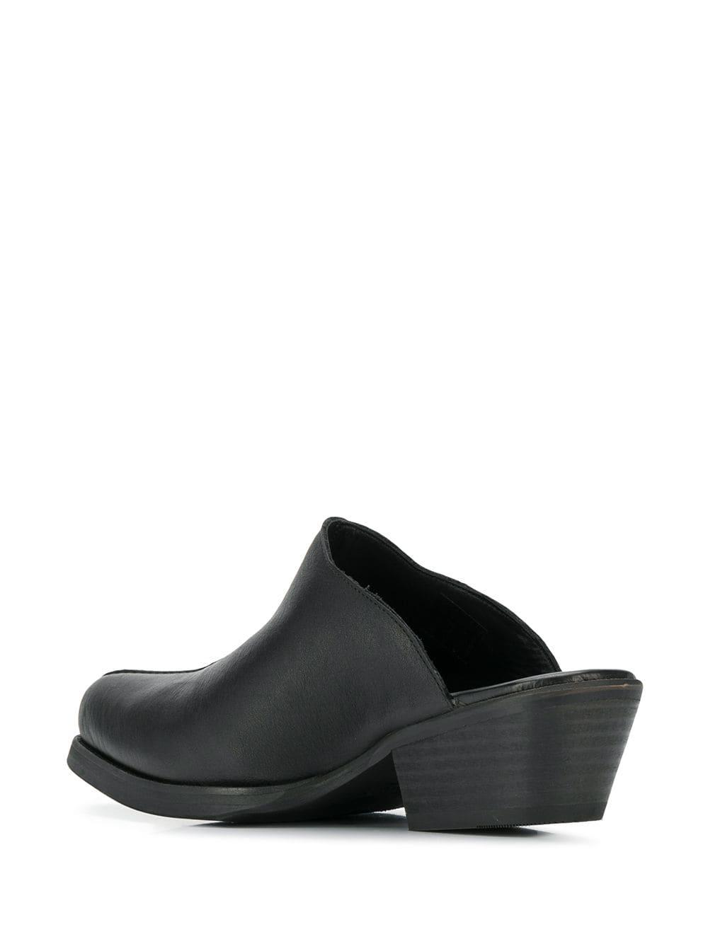 Our Legacy Leather Slip-on Mules in