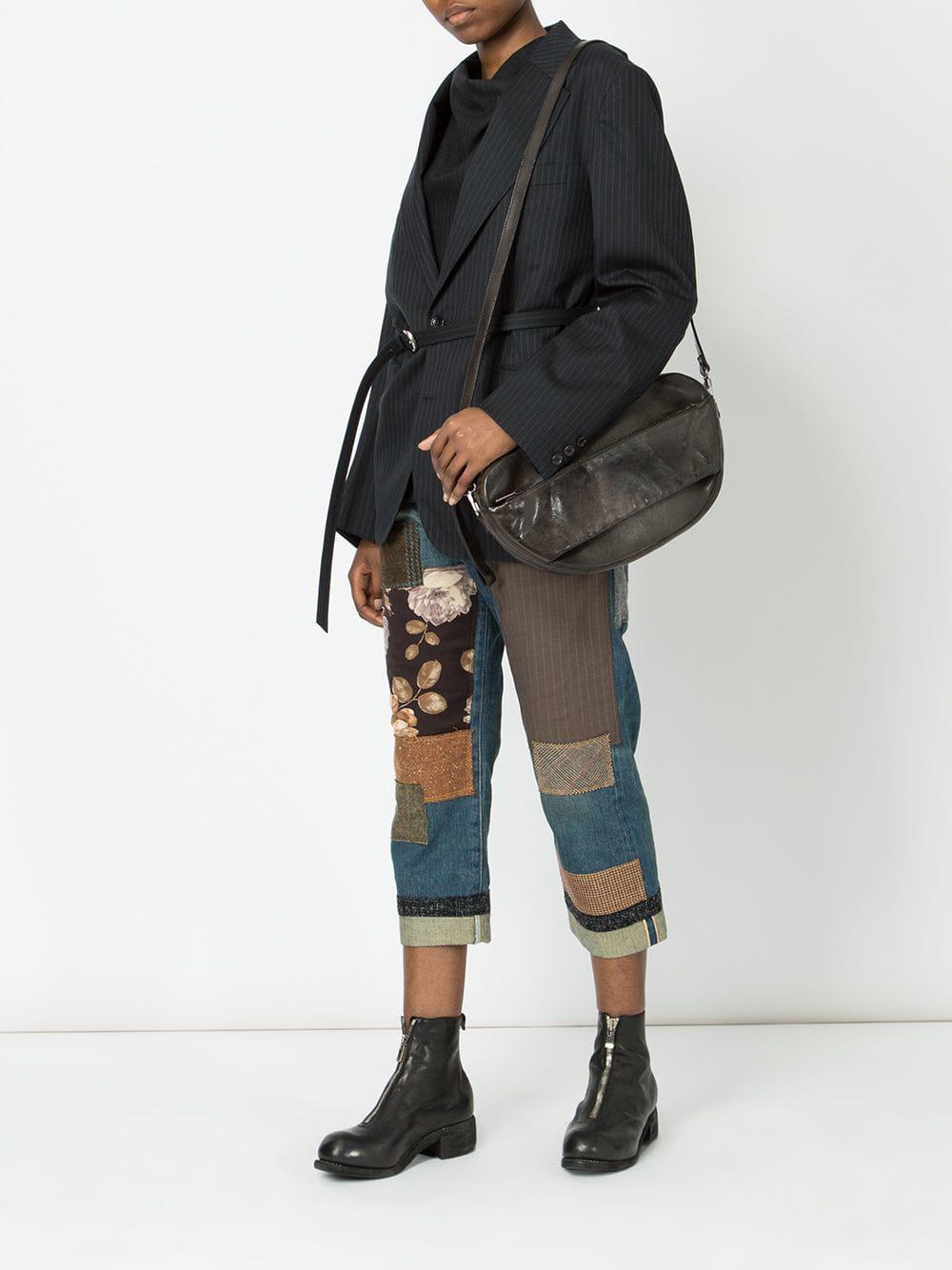 Lyst - Sac porté épaule en cuir Numero 10 en coloris Noir ad9e1fce998