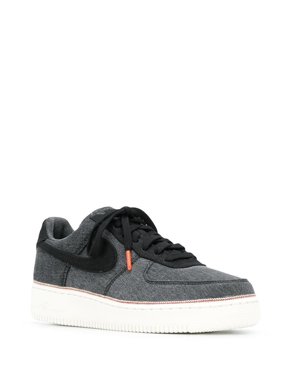 Zapatillas vaqueras Air Force 1 Nike de Denim de color Gris para hombre