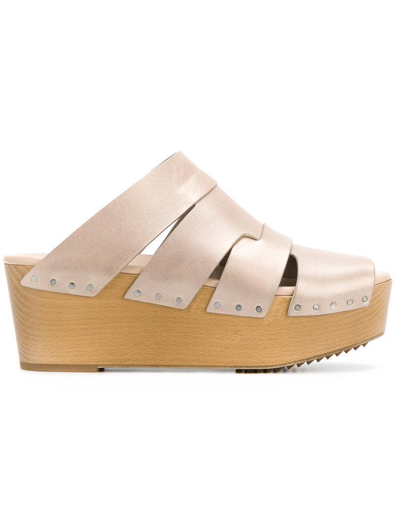 platform sandals - Nude & Neutrals Rick Owens AWmqApwV5