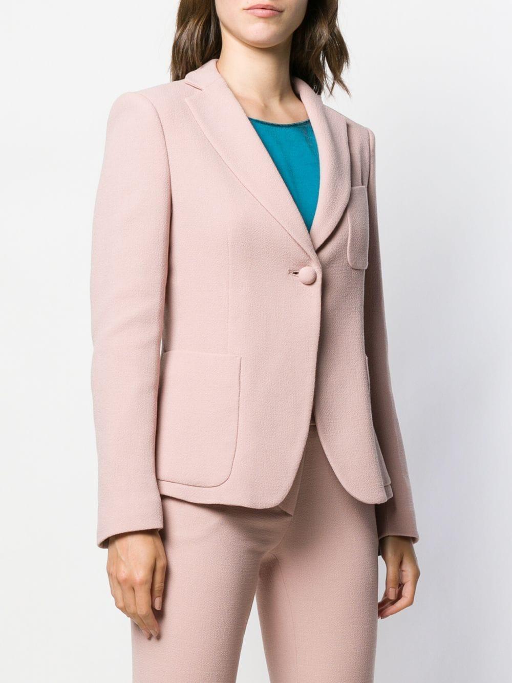 Blazer ajusté classique Laines L'Autre Chose en coloris Rose