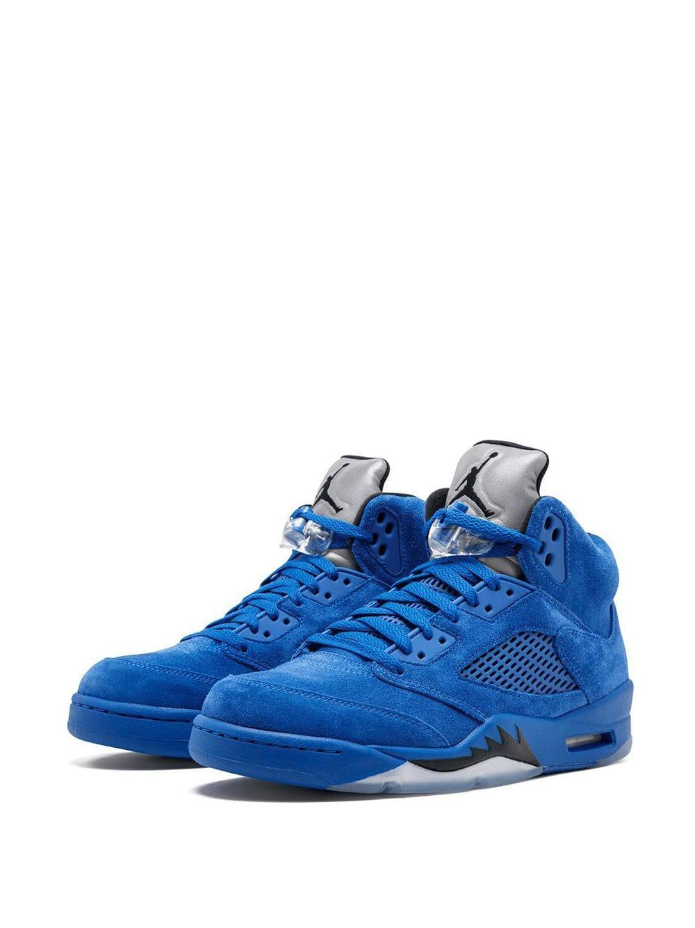 Zapatillas Air 5 Retro Nike de Caucho de color Azul para hombre