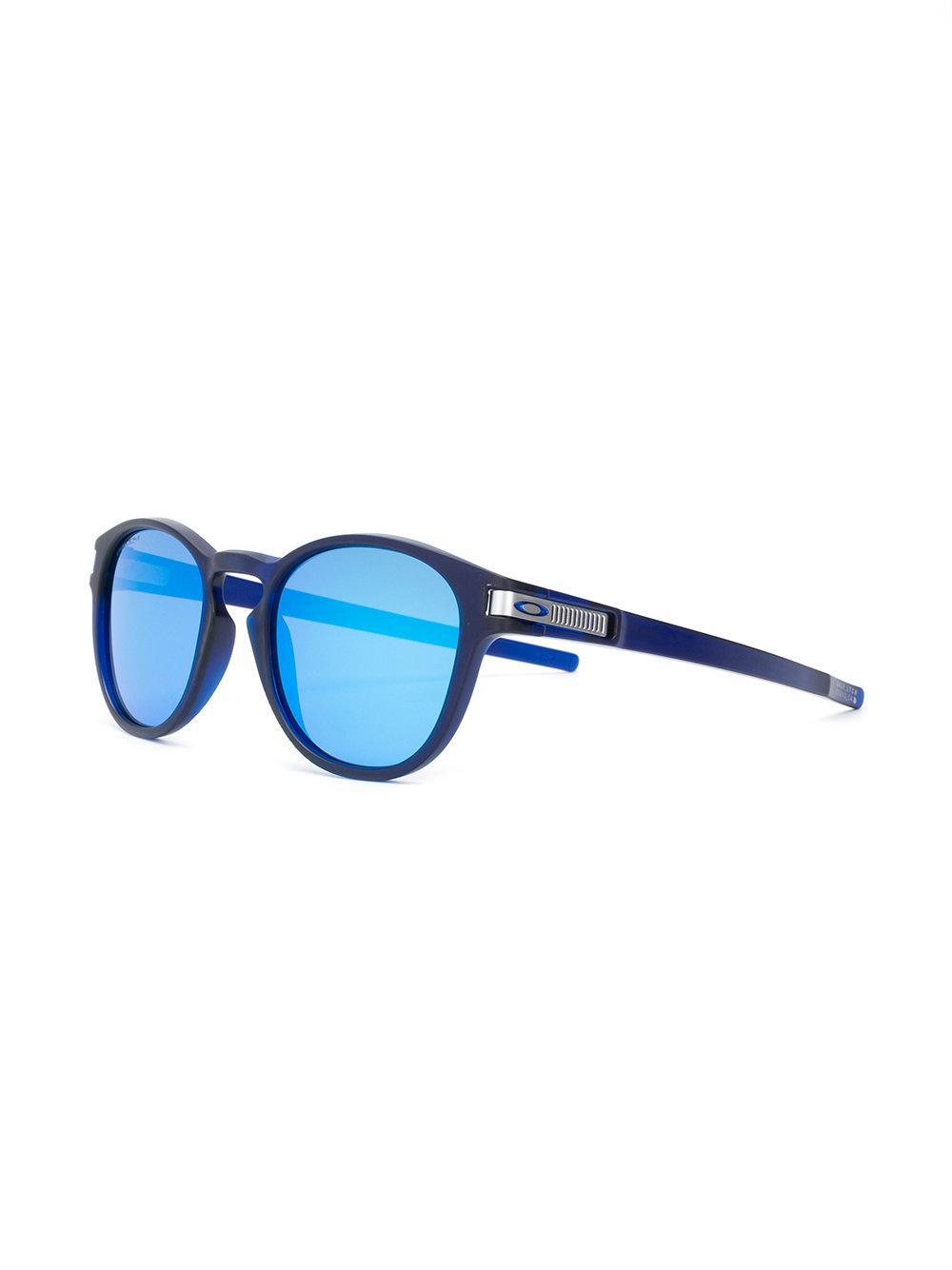 Lyst - Lunettes de soleil Latch Oakley pour homme en coloris Bleu 99b6f7bebe00