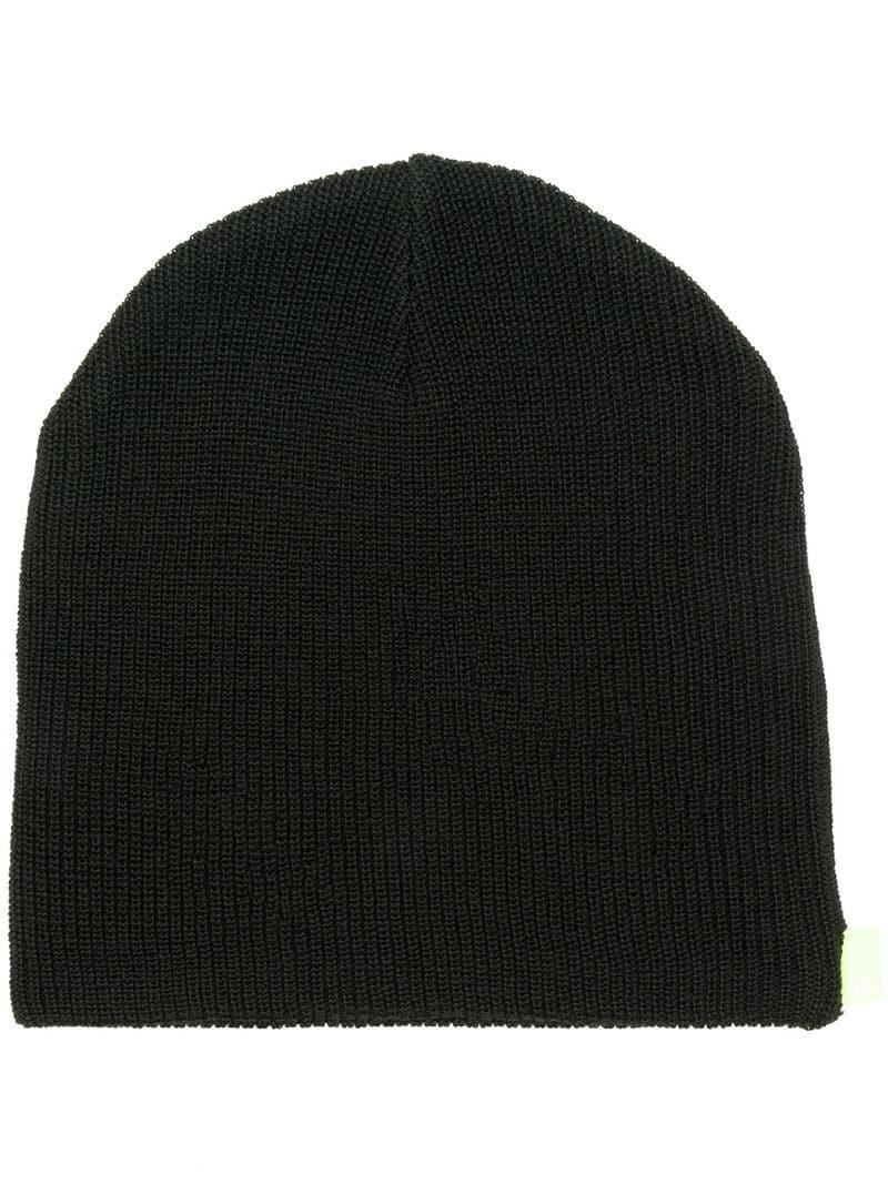 ad056157bc8 Undercover Knitted Beanie in Black for Men - Lyst