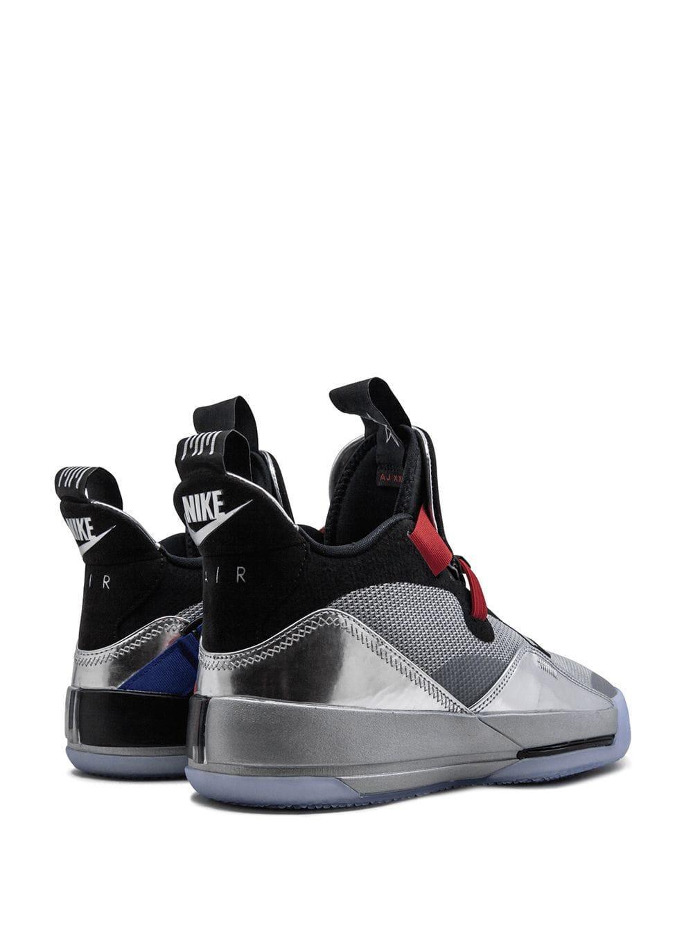 Nike Synthetisch Air 33 Sneakers in het Metallic voor heren