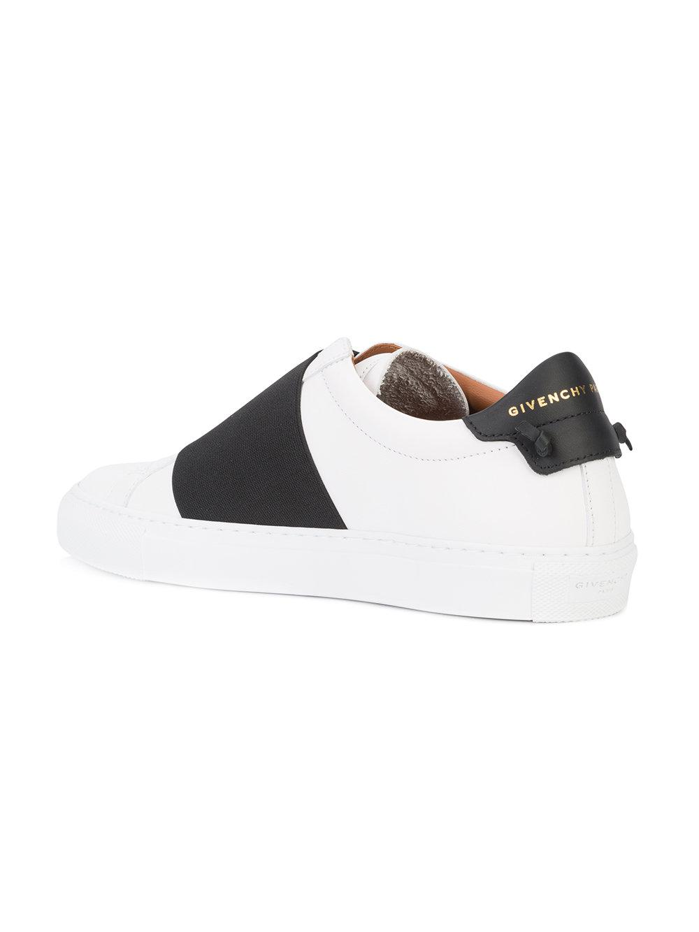 release date: quite nice a few days away Givenchy Leather Elastic Skate Sneakers in White - Lyst