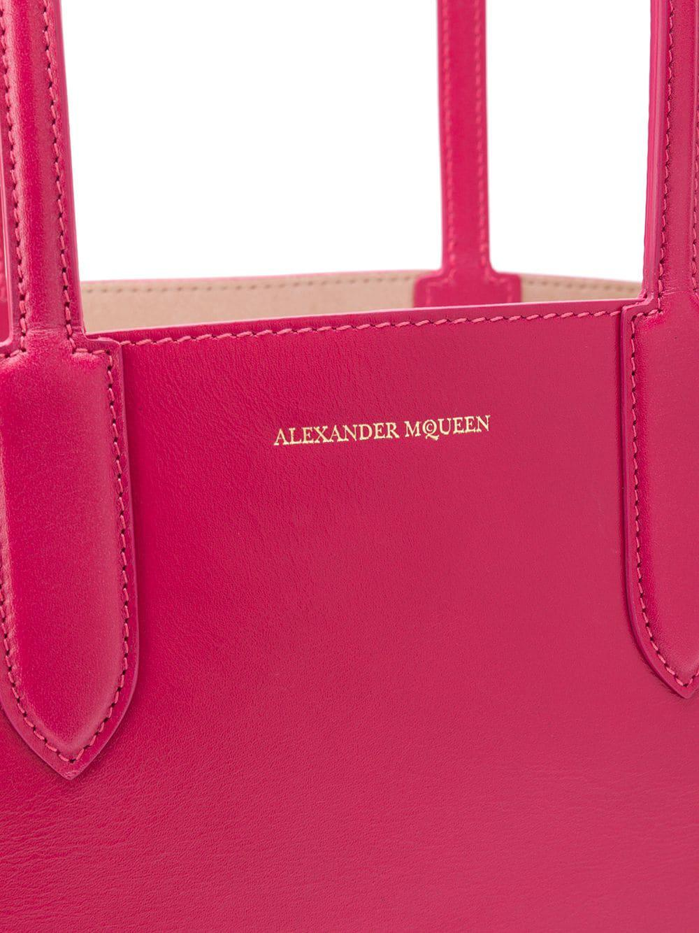 Alexander McQueen Shopper Tote in Pink