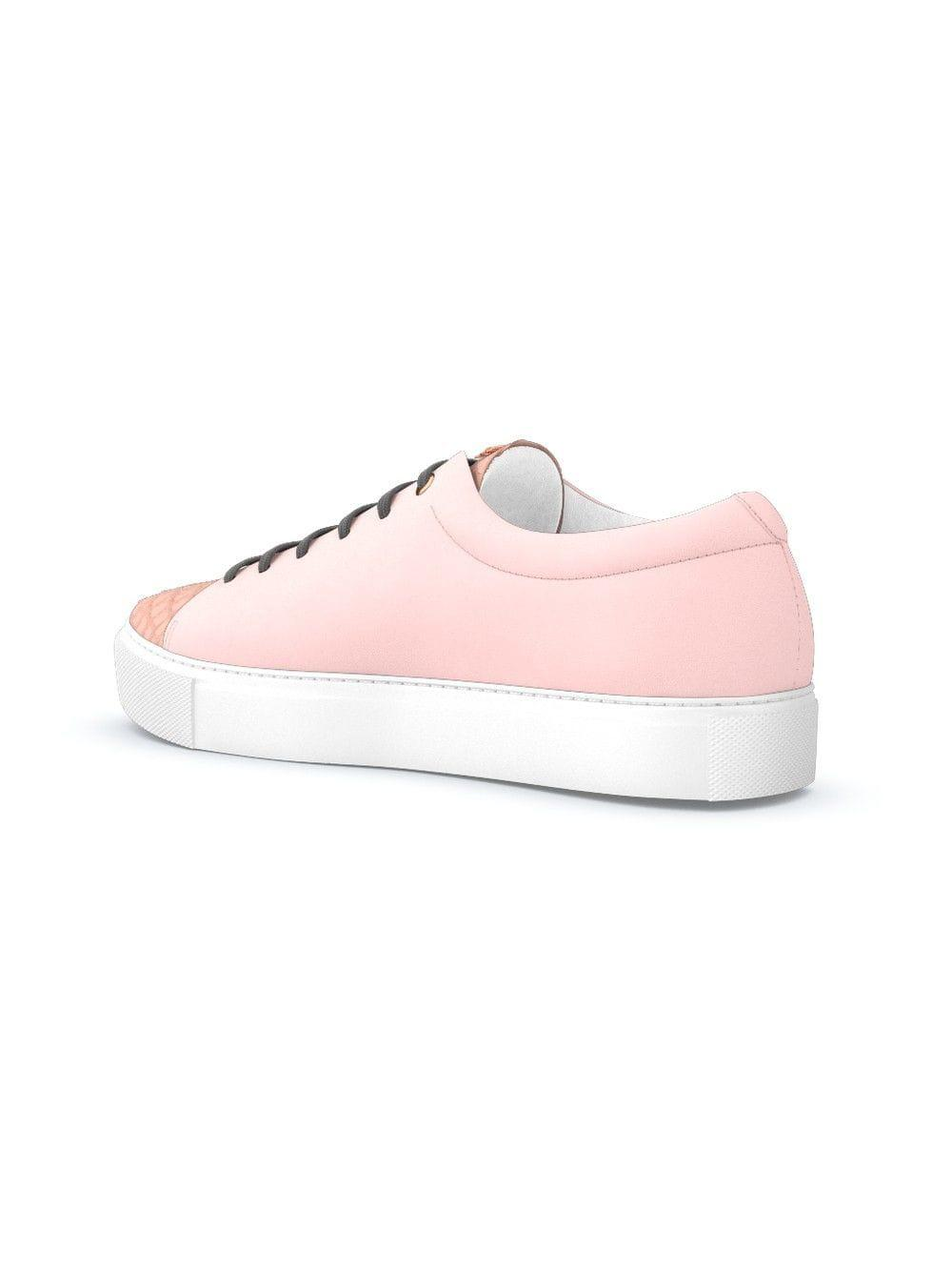 Swear Suede Vyner Sneakers in Pink