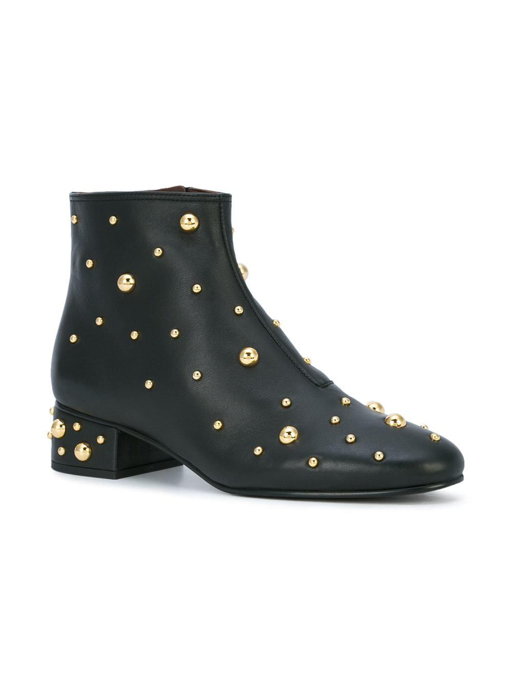 See By Chloé Abby Ankle Boots in Nero