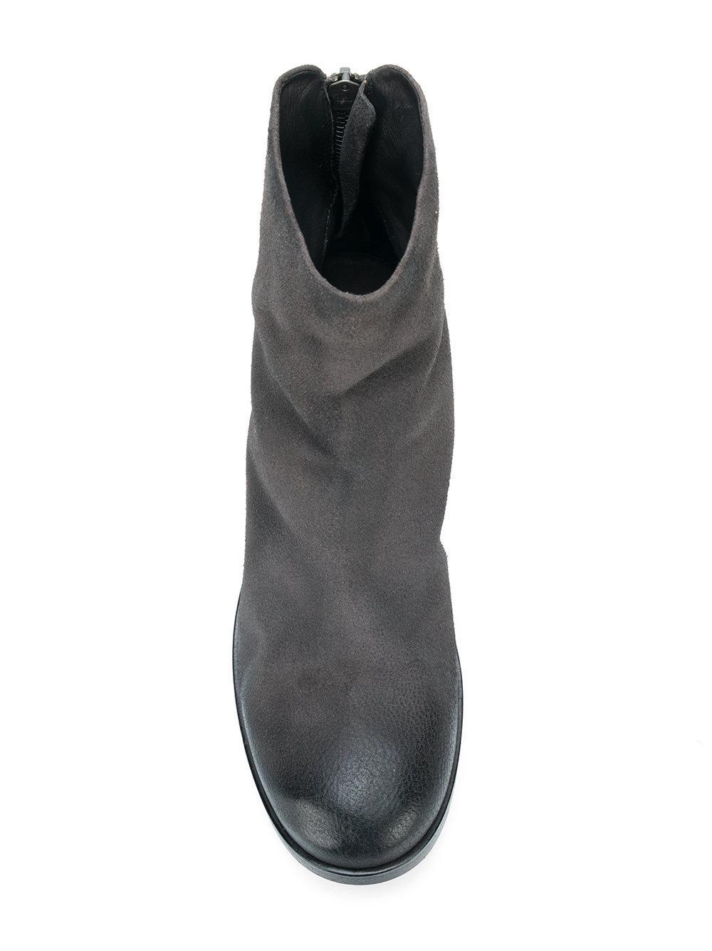 Botas Listo 2520 Marsèll de Cuero de color Negro