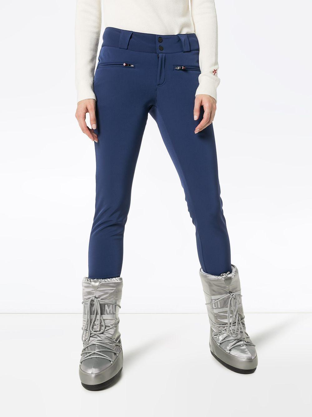 Perfect Moment 'Aurora' Skinny-Skihose in Blau