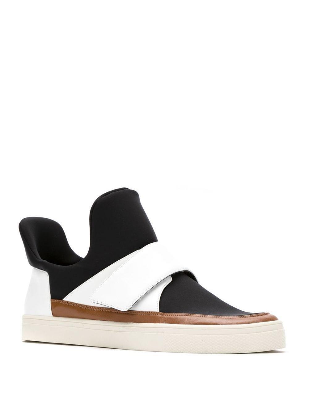 Zapatillas por el tobillo Gloria Coelho de Tejido sintético de color Negro