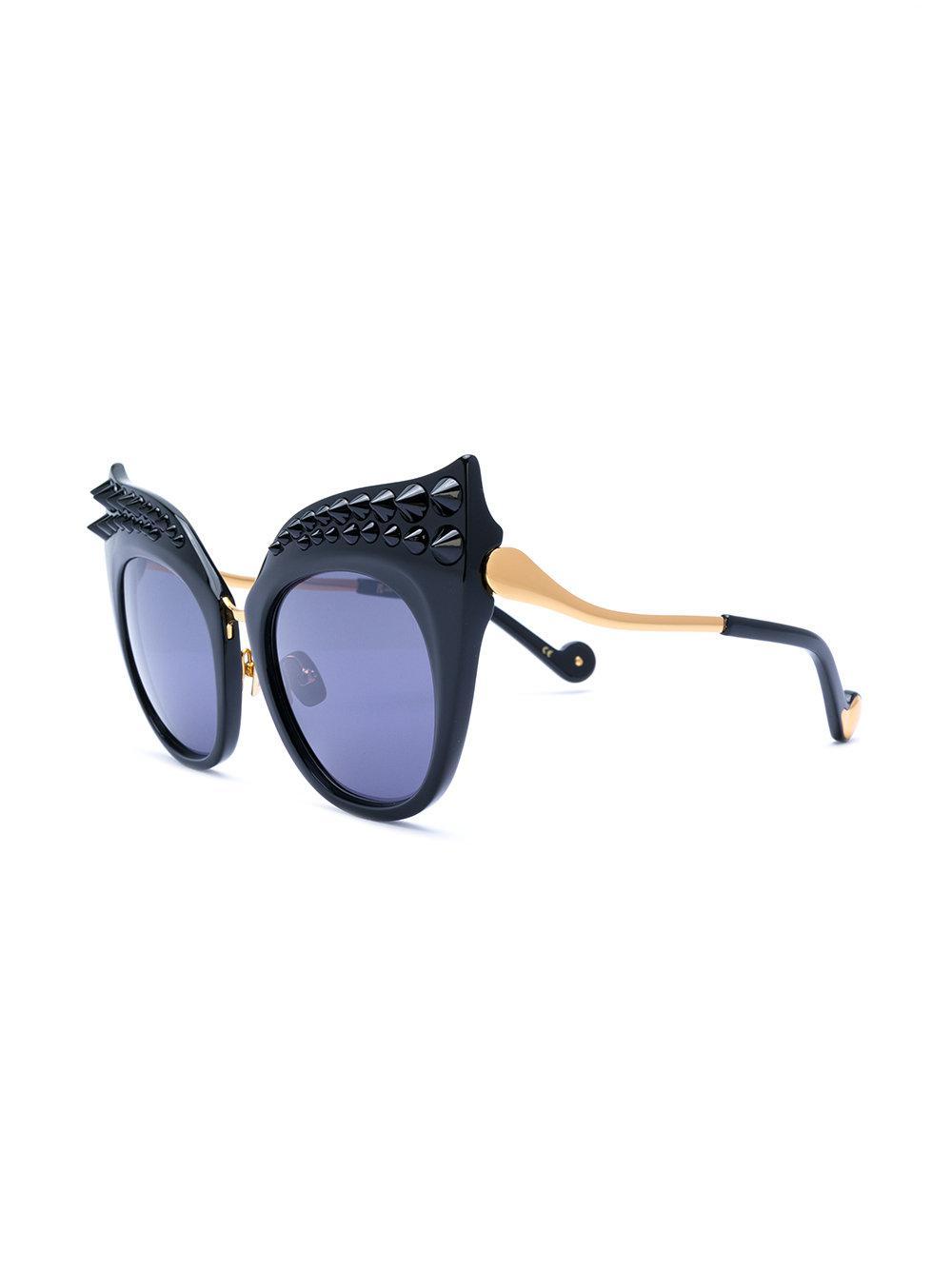 b54d1d73ecb Anna Karin Karlsson - Black Moon Sunglasses - Lyst. View fullscreen