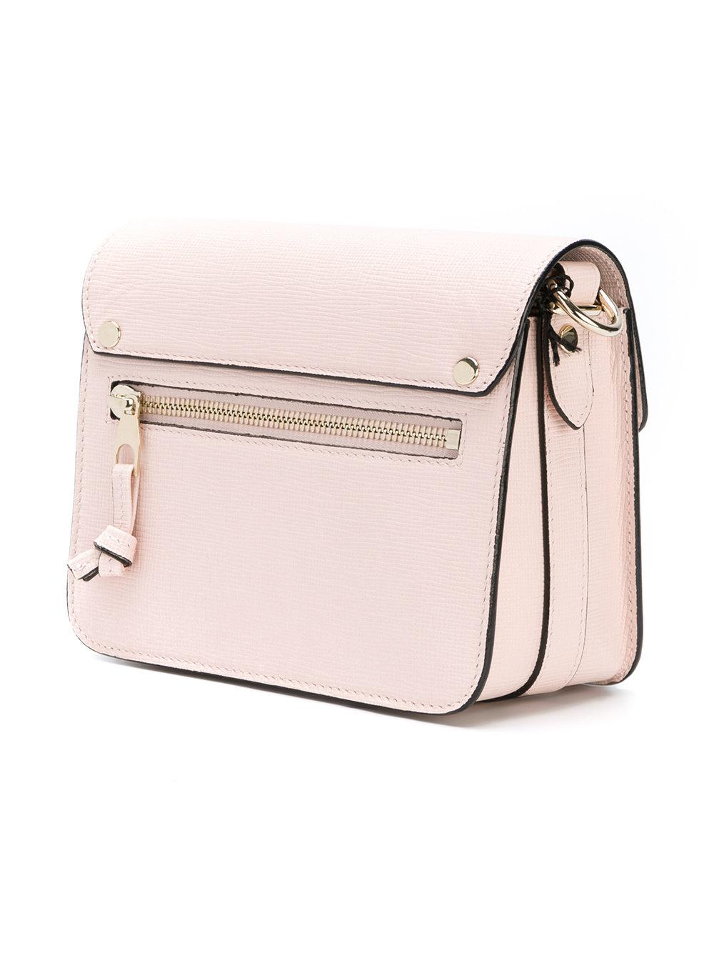 Proenza Schouler Leather Ps11 Mini Tote in Pink & Purple (Pink)