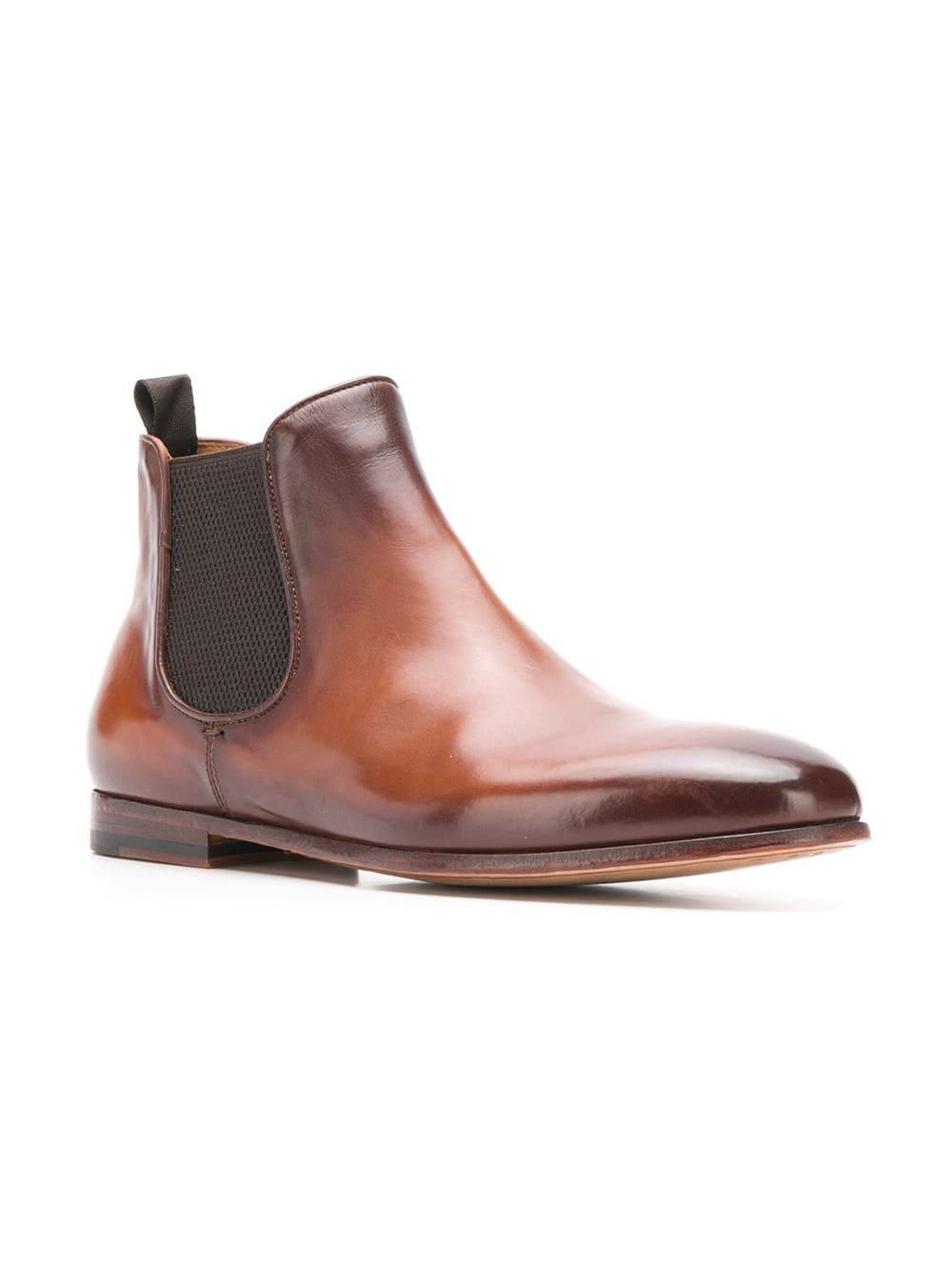 2c149746534ed Lyst - Officine Creative Alain Boots in Brown for Men