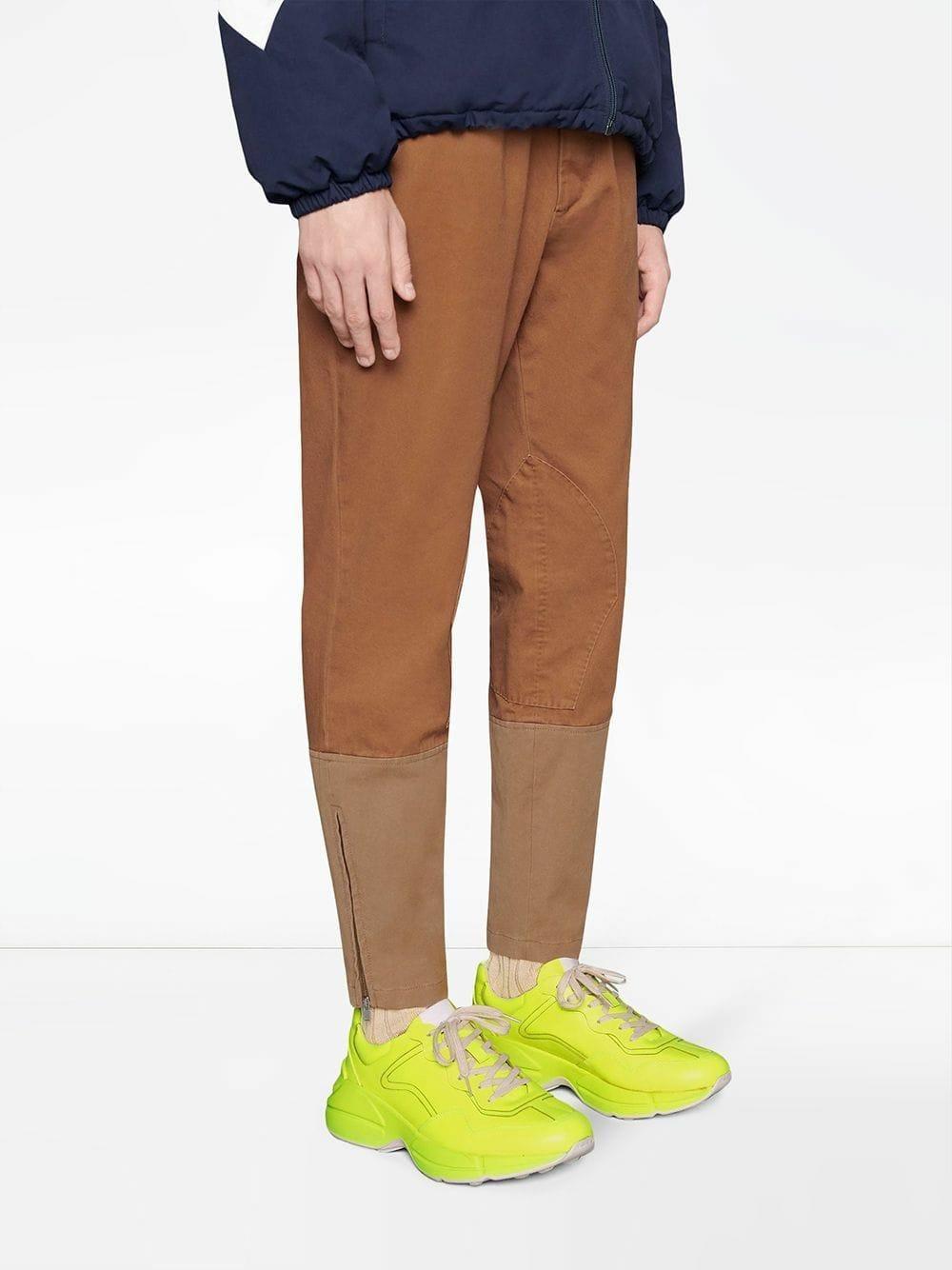 Gucci Rhyton Fluorescent Leather