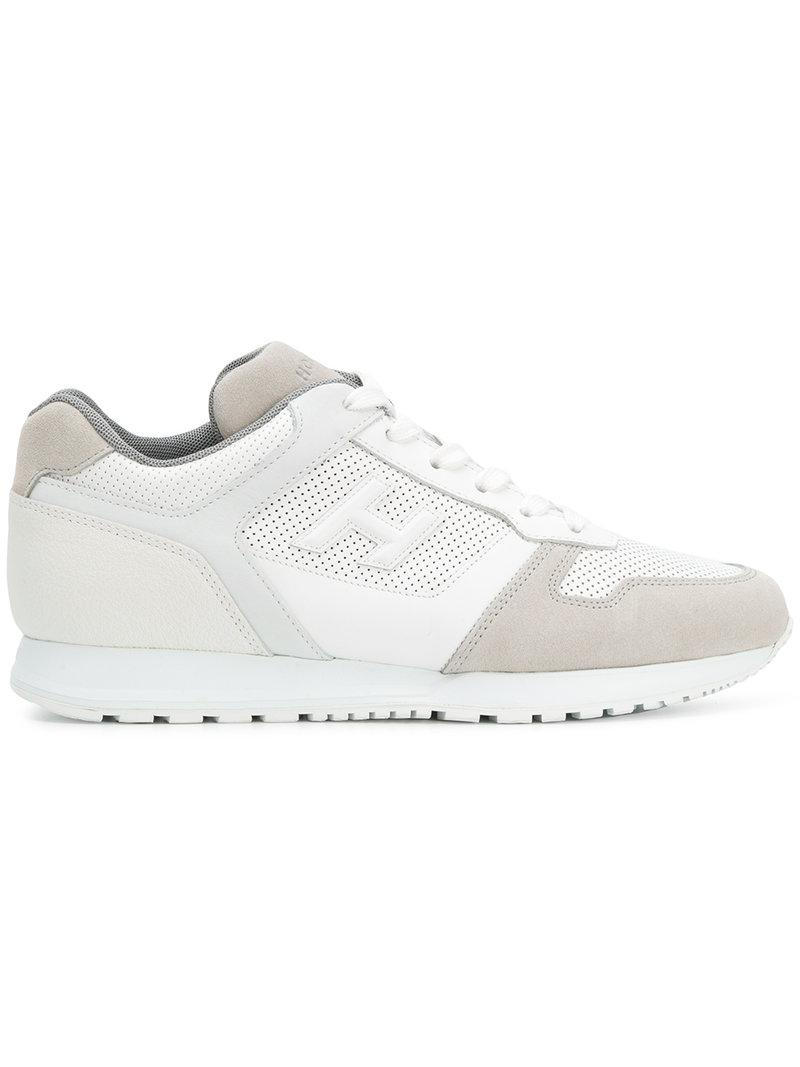 Hogan Leather 321 Running Sneakers in White for Men - Lyst