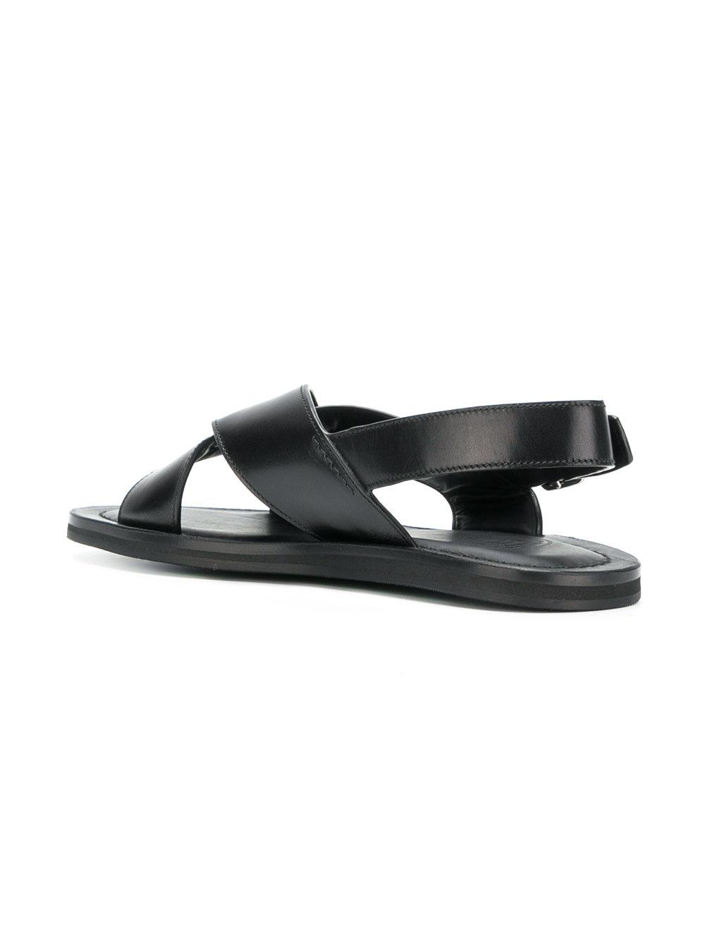 df93ee9b177816 Church s - Black Crossover Strap Sandals for Men - Lyst. View fullscreen