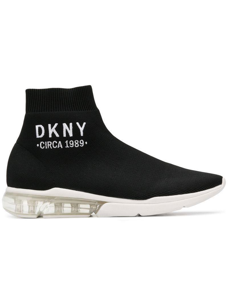 DKNY Synthetic Nora No Heel Sneakers
