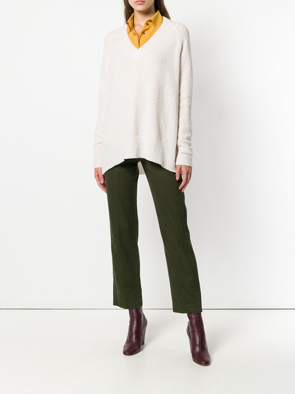 Christian Wijnants Wool Karwa Sweater in White