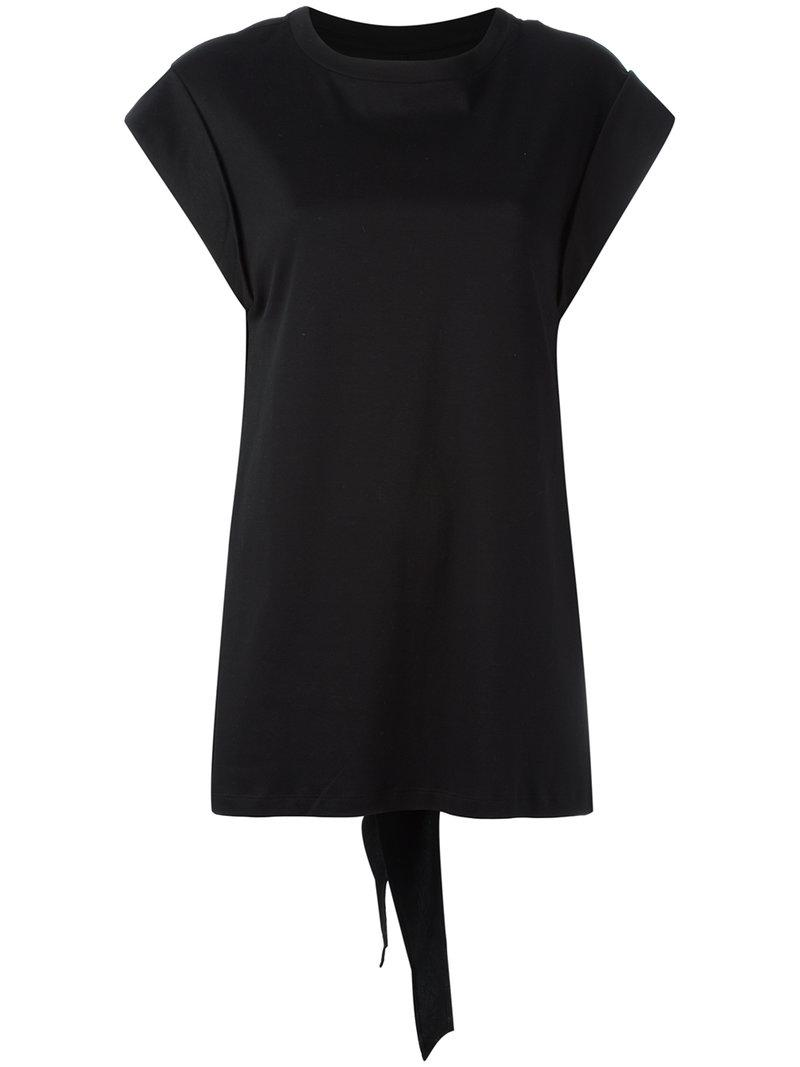 Lyst isabel marant classic t shirt in black for Isabel marant t shirt sale