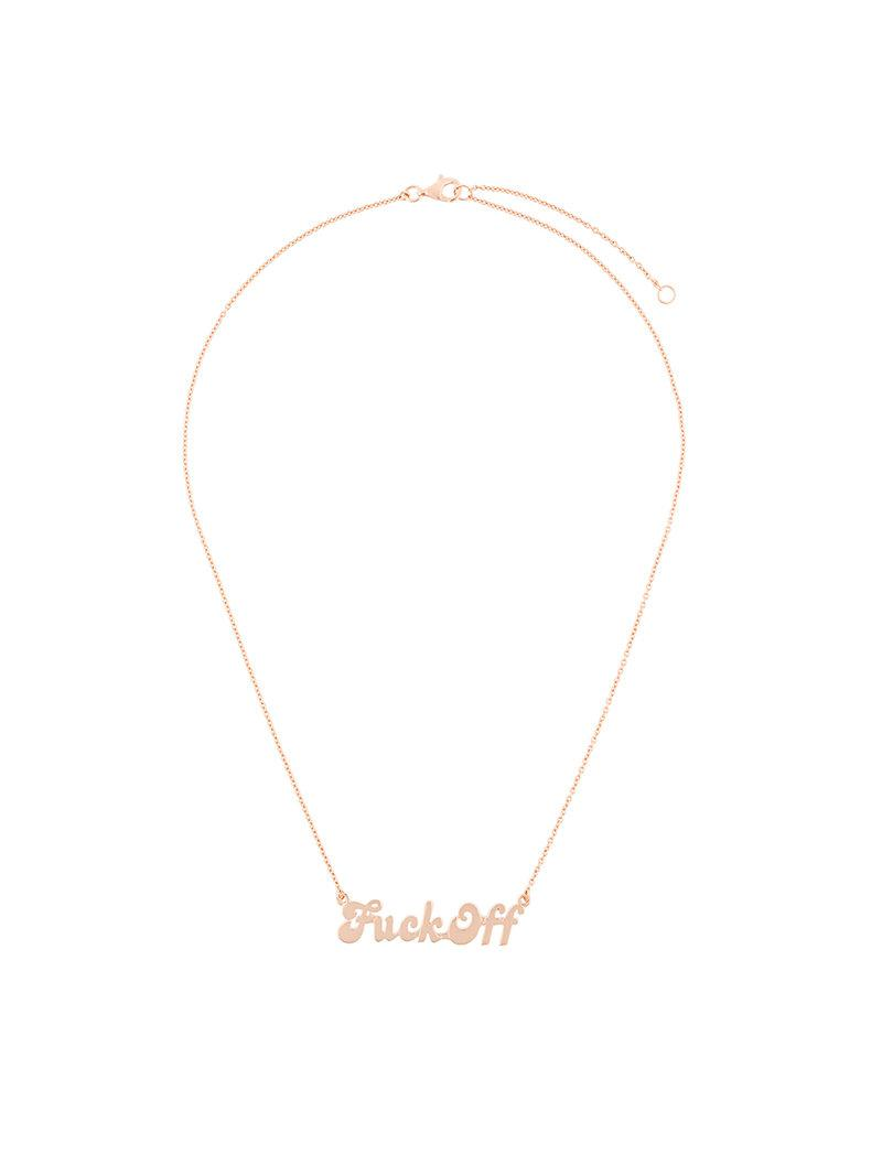 True Rocks F necklace - Metallic 9zaB0Eb