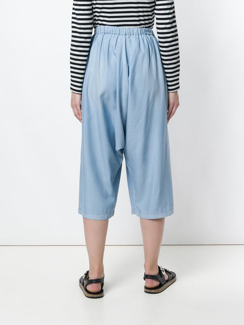 cross front culottes - Blue Unconditional 1NO1jMHF