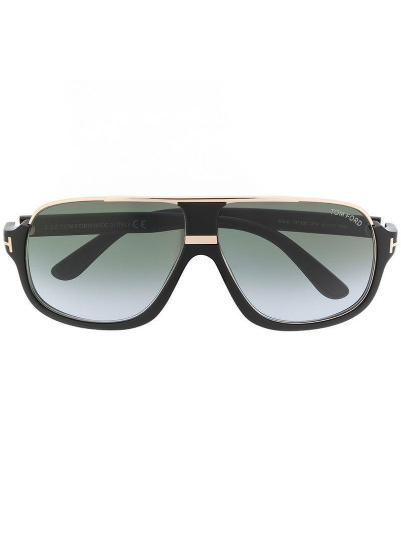 585b5dded48 Tom Ford - Black Elliott Square Sunglasses - Lyst. View fullscreen
