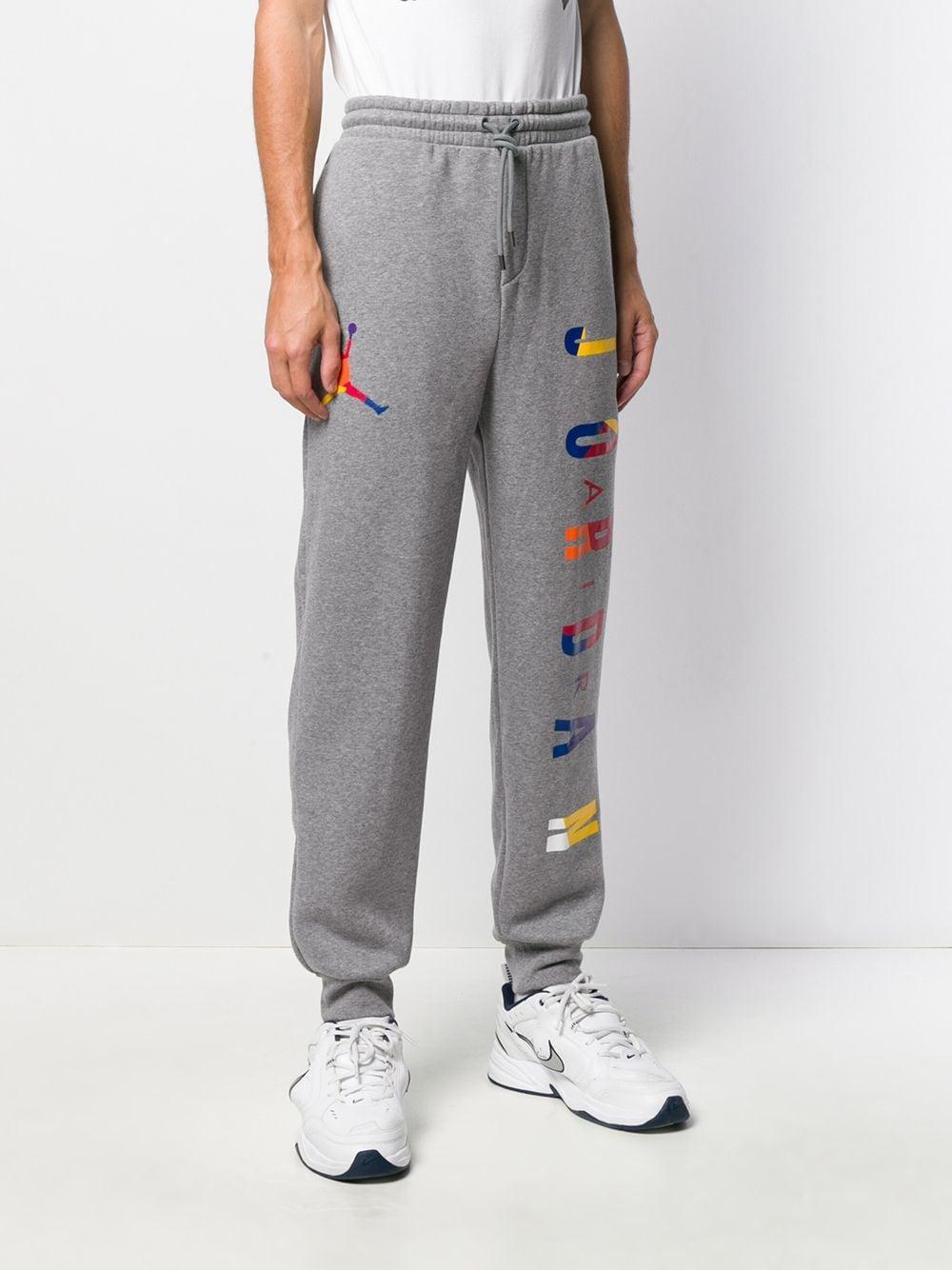 Nike Katoen Trainingsbroek Met Print in het Grijs voor heren