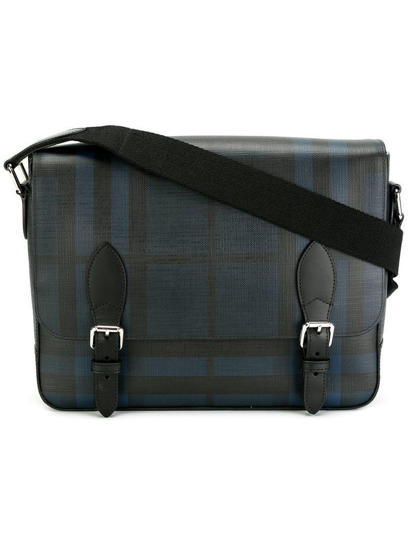 Lyst - Burberry  henley  Cross Body Bag in Blue 422148a2aa4f3