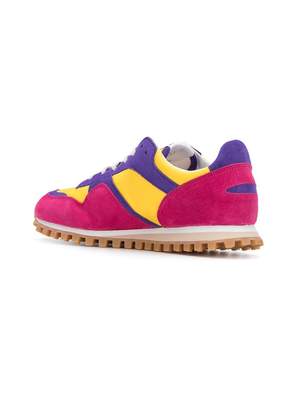 Comme des Garçons Leather Marathon Trail Low-top Sneakers