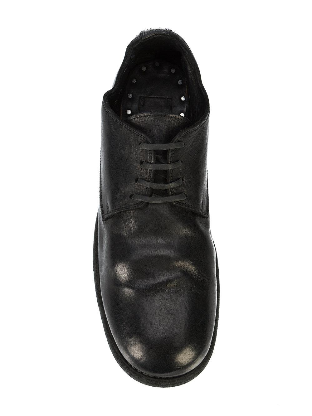 Guidi Leather Men's 992 Horse Classic Derby in Black for Men