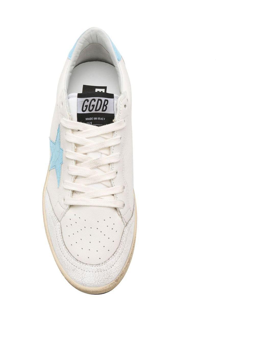 Zapatillas May Golden Goose Deluxe Brand de Pluma de oca de color Blanco