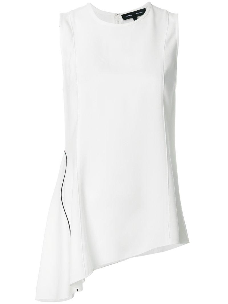 Discount Cheap Buy Cheap Eastbay Proenza Schouler asymmetric blouse Clearance Sale Cheap Affordable Low Cost Sale Online 8PZwHIogf