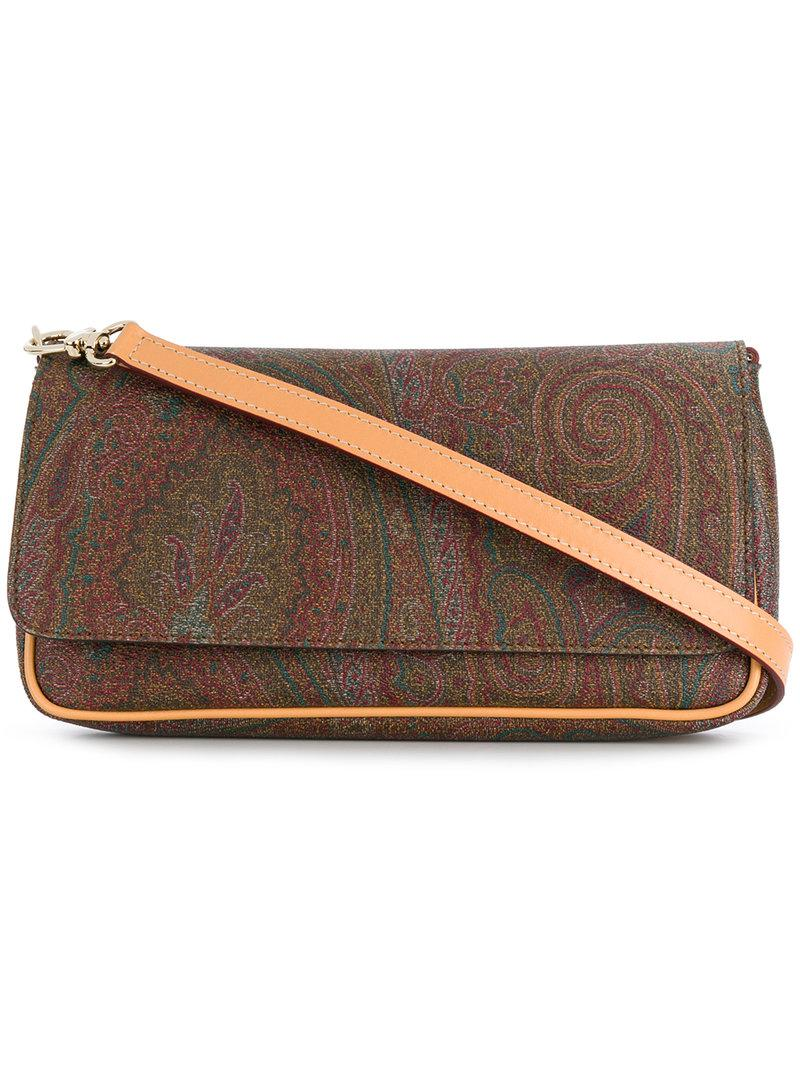 Etro paisley print rectangular shoulder bag Excellent Sale Online T5bXh2UOQ