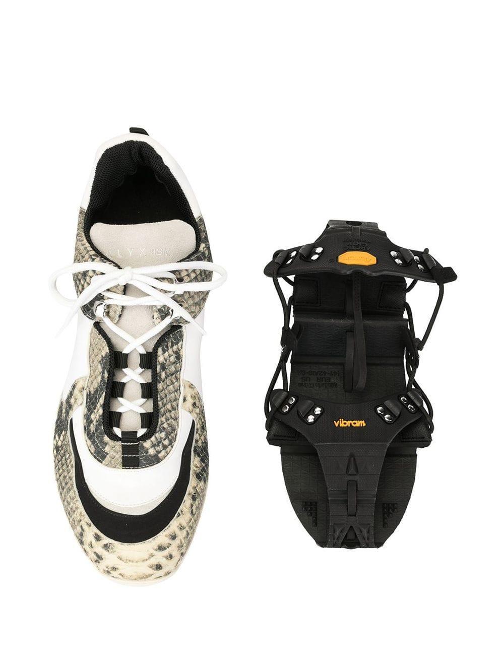 Zapatillas con estampado de serpiente 1017 ALYX 9SM de hombre de color Blanco